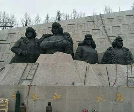人物广场雕塑制作