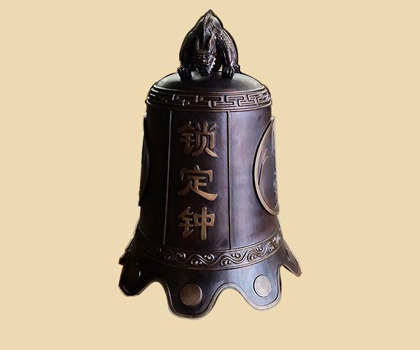 銅鐘-鎖定鐘