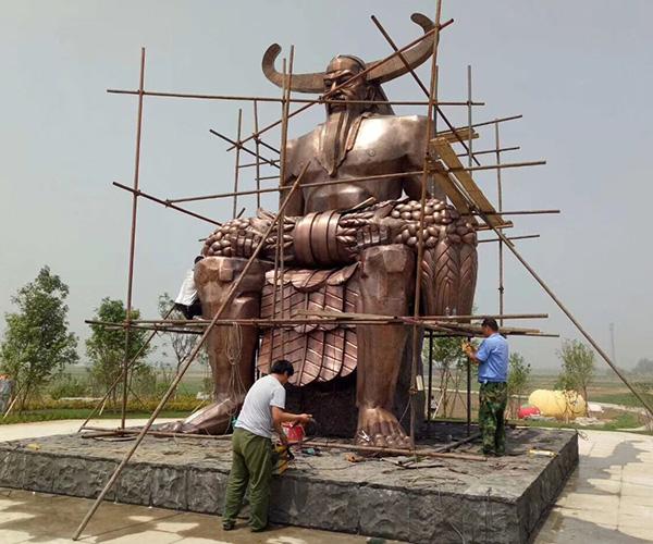 神像雕塑/神农
